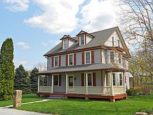 Avondale, Pennsylvania - Image: Avondale Chesco PA house 3