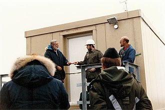Alert, Nunavut - The opening of the Alert Background Air Pollution Monitoring Network in 1986.