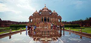 Pramukh Swami Maharaj - Swaminarayan Akshardham, New Delhi(2007)