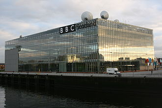 BBC Scotland - BBC Pacific Quay at the River Clyde