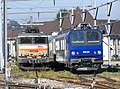 BB 22400 et Z 9634 au repos à Annecy (2007).JPG