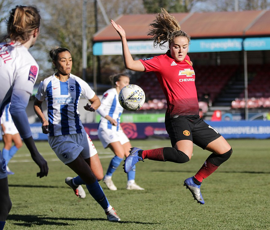 BHA Women 0 Man Utd Women 2 WFAC 4th rd 03 02 2019-710 (40021423353).jpg