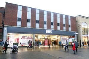 British Home Stores - A branch with post-2015 branding seen in Lincoln in 2015.