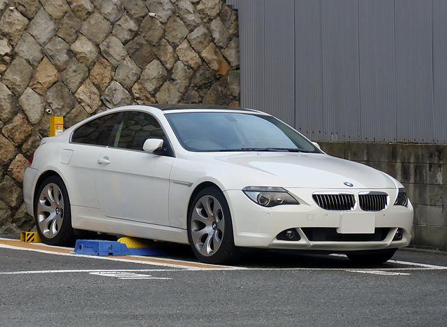 Image of BMW 650i Coupé (E63) front