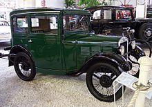 La prima autovettura BMW: la 3/15 Dixi.