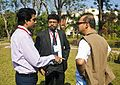 BNWIKI10-Discussions between Wikipedians -Wikipedia 10th Anniversary Celebration.jpg