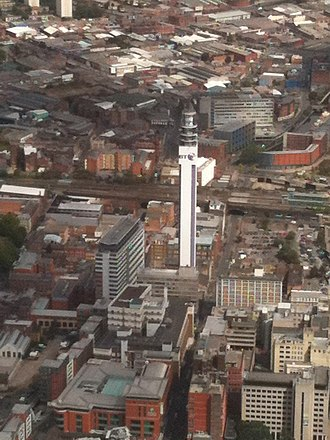 BT Tower (Birmingham) - Image: BT Tower, Birmingham