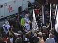 BYU Entering Field, Nevada Wolf Pack vs. Brigham Young Cougars, Mackay Stadium, University of Nevada, Reno, Nevada (11142091615).jpg