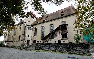 Backnang Abbey human settlement in Germany