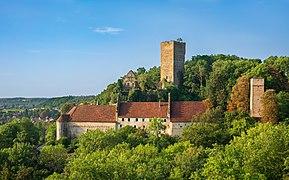 Bad Rappenau - Heinsheim - Burg Ehrenberg - Ansicht von Norden (1).jpg