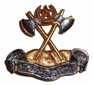 Sind Regiment - Image: Badge of Sind Regiment