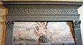 Badia fiesolana, lavabo del 1653, 02 architrave del 1460 di Francesco di Simone Ferrucci.JPG