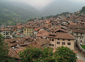 Bagolino - Image: Bagolino village