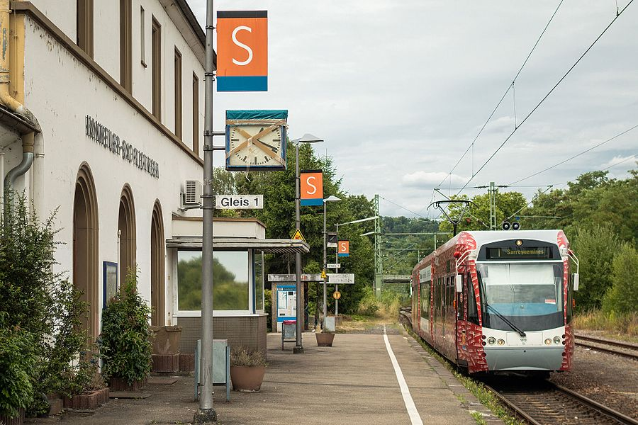 Bahnhof Hanweiler - Bad Rilchingen