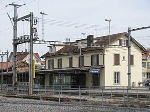 Kerzers - Kerzers train station