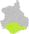 Baigneaux (Eure-et-Loir) dans son Arrondissement.png