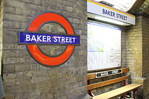 Baker Street - Baker Street Train Station