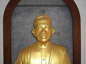 M. Bhaktavatsalam - Statue of Bhaktavatsalam