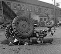 Baleset, traktor 1959 Fortepan 104130.jpg