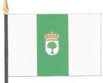 Almendralejo - Image: Bandera de Almendralejo 2