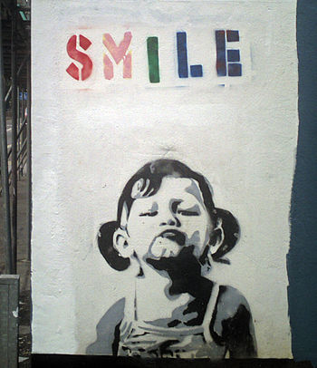 Banksy Smile Girl.jpg