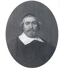 Portrait of Jacob Jacobsz. van Couwenhoven