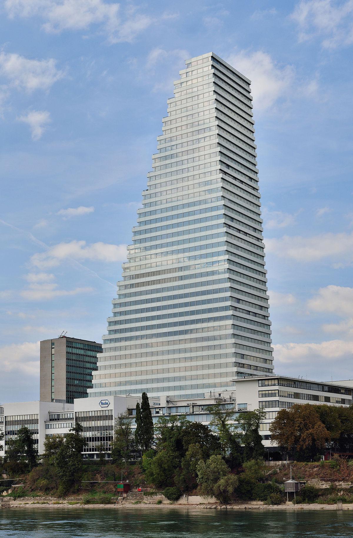 Roche Turm Bau 1 Wikipedia