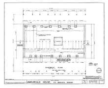 Residential house foundation plan house design plans for Foundation plan drawing