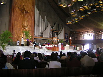 Basilica of Our Lady of Guadalupe %28interior%29