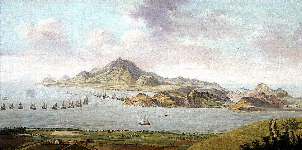 Bataille de Saint Kitts janvier 1782