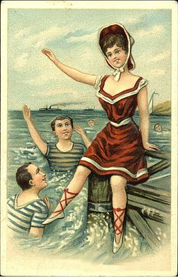 Bathing beauty 1908