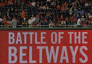 Beltway Series Major League Baseball rivalry in Baltimore-Washington, D.C area