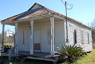 National Register of Historic Places listings in Iberville Parish, Louisiana - Image: Bayou Paul School 2