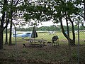 Bayport Aerodrome; Picnic Tables & Planes.JPG