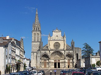 Roman Catholic Archdiocese of Bordeaux - Former cathedral of St. John the Baptist at Bazas.