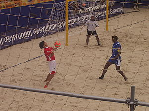 Beach soccer - Game at the FIFA Beach Soccer World Cup 2006