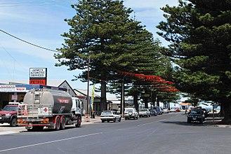 Beachport - Main street of Beachport