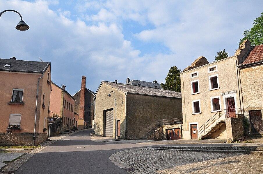 Rue du Bois (Wood Street) in Beaufort, Luxembourg