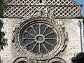 Beauvais (60), église Saint-Étienne, croisillon nord, rosace et roue de la fortune 1.JPG