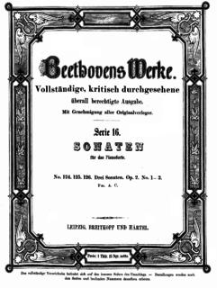 Piano Sonata No. 1 (Beethoven) piano sonata composed by Ludwig van Beethoven