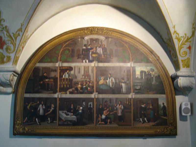 File:Beinwil Kirche WandbildKrypta.jpg