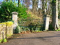 Beith manse - old gates.JPG