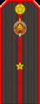 Belarus Police—10 Junior Lieutenant rank insignia (Gunmetal).png
