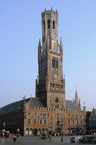 Belfries of Belgium and France - Belfry of Bruges