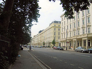 Pimlico small area of central London in the City of Westminster