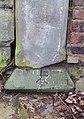 Benchmark at Rawcliffe Road bridge, Liverpool.jpg