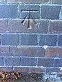 Benchmark on Botley Road railway bridge - geograph.org.uk - 2119209.jpg