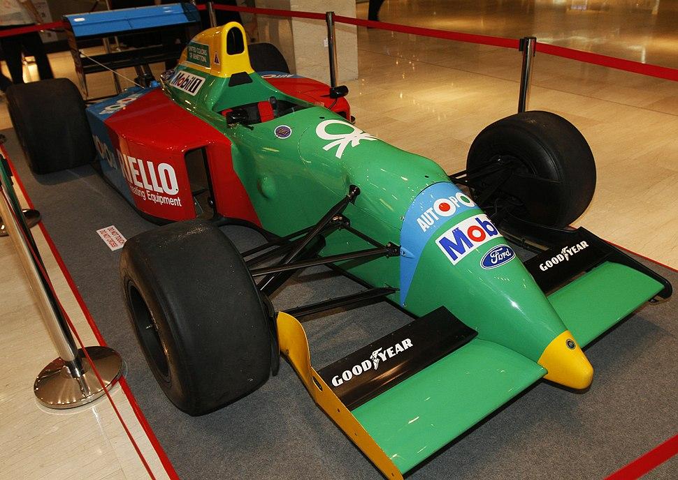 Benetton B190 front-right 2010 Pavilion Pit Stop