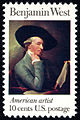 Benjamin West 10c 1975 issue U.S. stamp.jpg