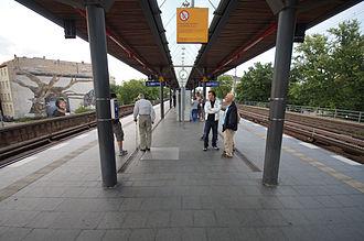 Berlin-Tiergarten station - Platform